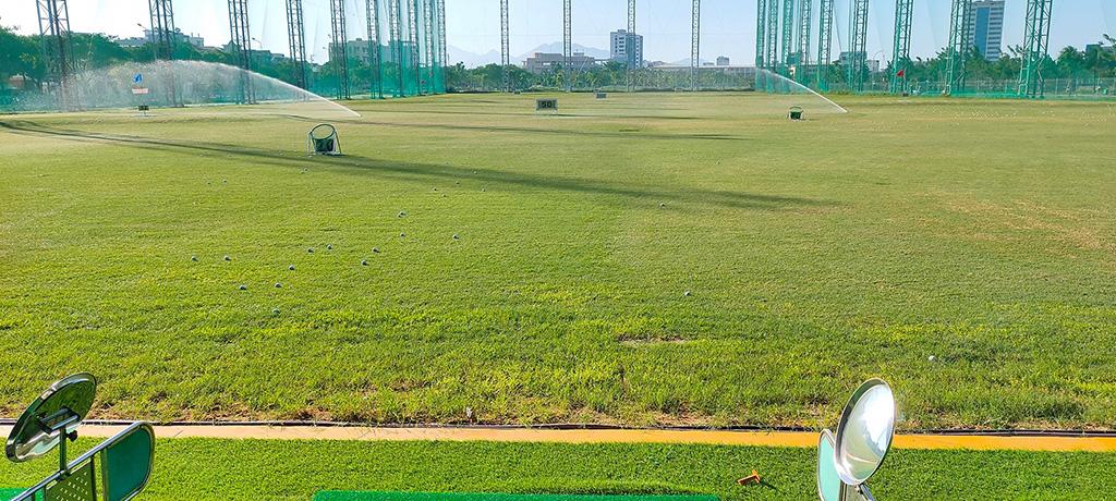 DanangAgri thi công tưới sân tập golf DNC Đà Nẵng